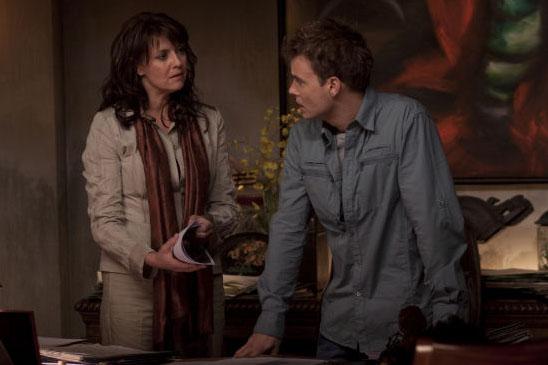 Аманда Таппинг и Робин Данн в премьерном эпизоде второго сезона Убежища