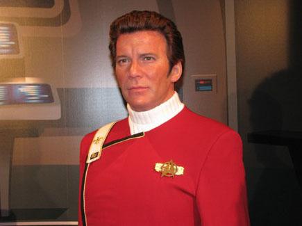 Восковая фигура капитана Кирка