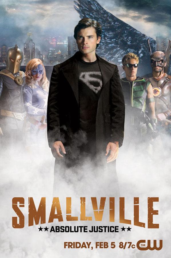 Постер к Тайнам Смолвиля: Абсолютная Справедливость