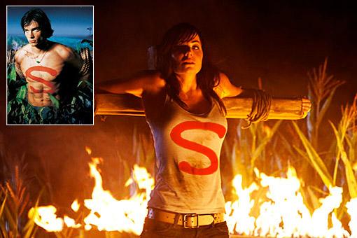 Лоис в первой серии 10 сезона Смолвиля