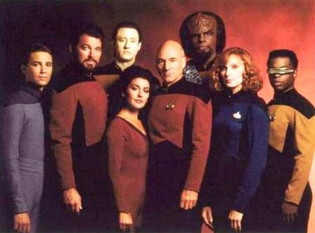 Команда сериала Звездный Путь: Следующее Поколение