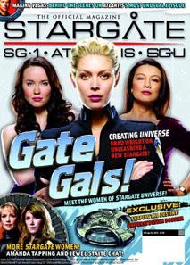 Уменьшенная фотография журнала Stargate