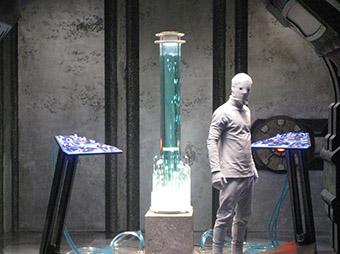 Интерьер корабля инопланетян