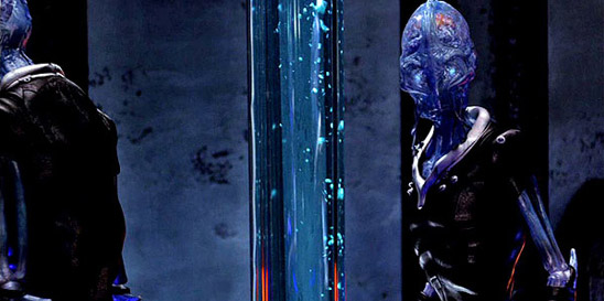 Синие инопланетяне