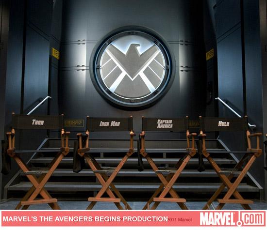 Фотография со съемок Мстителей