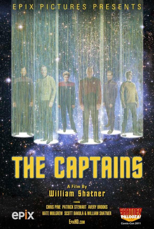 Постер к фильму The Captains Уильяма Шатнера
