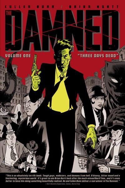 The Damned книга комиксов