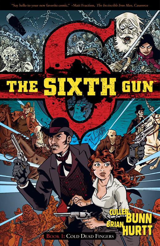 The Sixth Gun комиксы