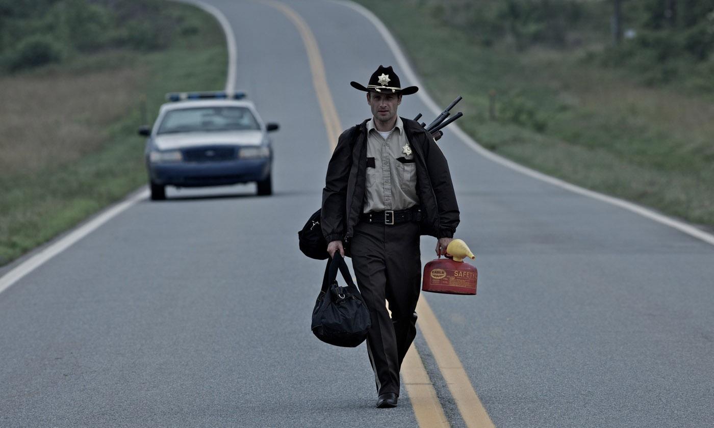 Эндрю Линкольн в сериале The Walking Dead