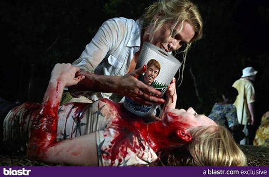 Реклама продуктов в сериале Ходячие Мертвецы