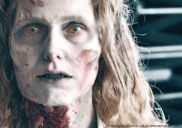 Женщина зомби