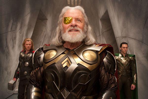 Тор, Один и Локи