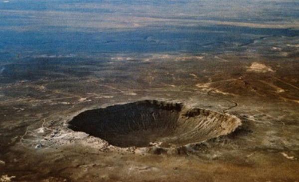 Кратер Тунгусского метеорита