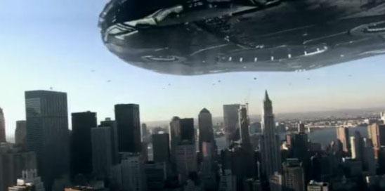 Прибытие космического корабля в сериале V