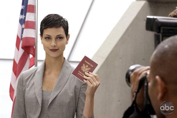 Анна лидер Визитеров в сериале V