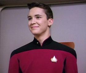 Молодой Уил Уитон в Звездном Пути