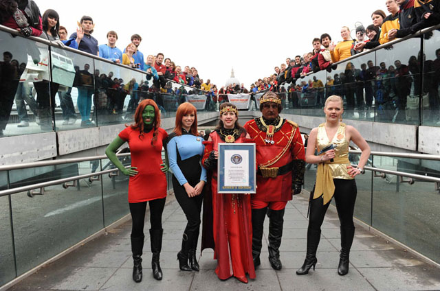 Мировой рекорд Звездного Пути