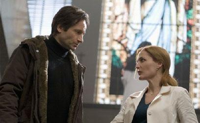 Малдер и Скалли X-Files