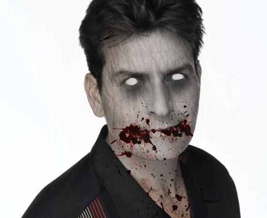 Зомби Чарли Шин
