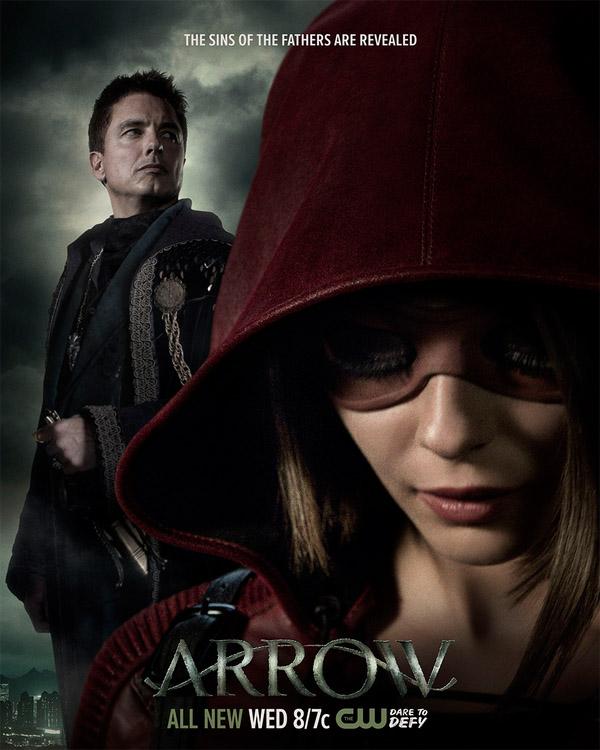 Постер для 4 сезона сериала Стрела