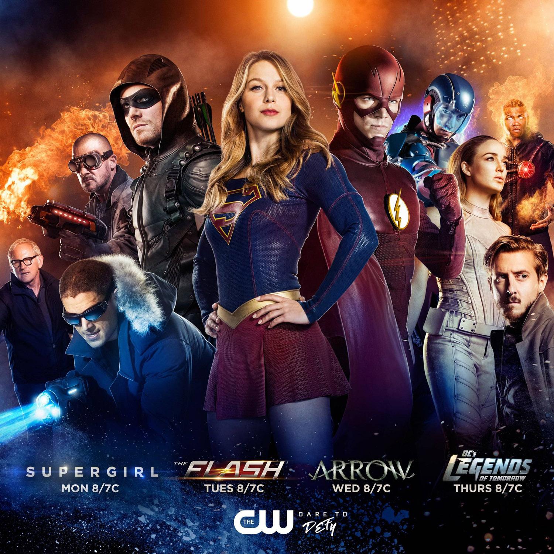 Постер для 5 сезона сериала Стрела