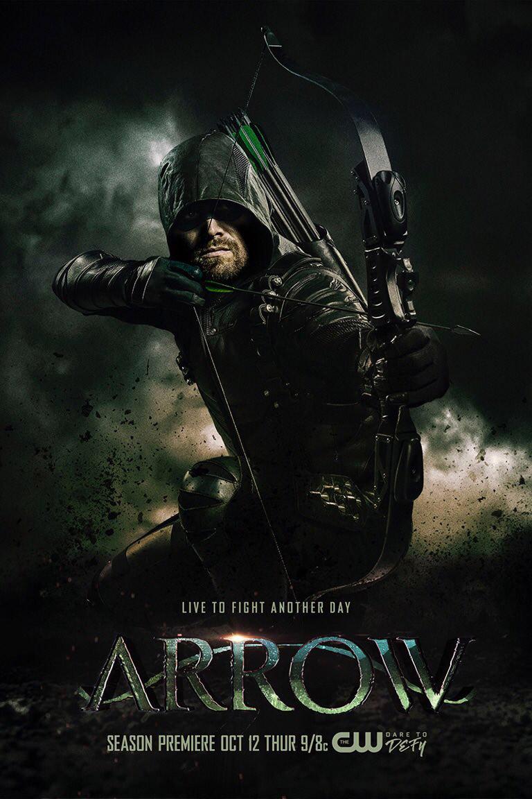 Постер для 6 сезона сериала Стрела