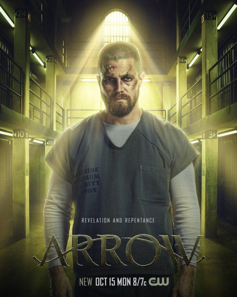 Постер для 7 сезона сериала Стрела