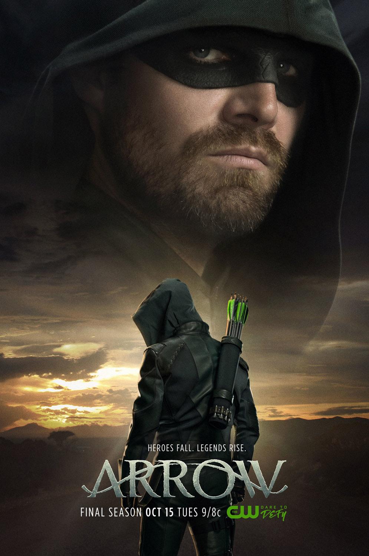 Постер для 8 сезона сериала Стрела