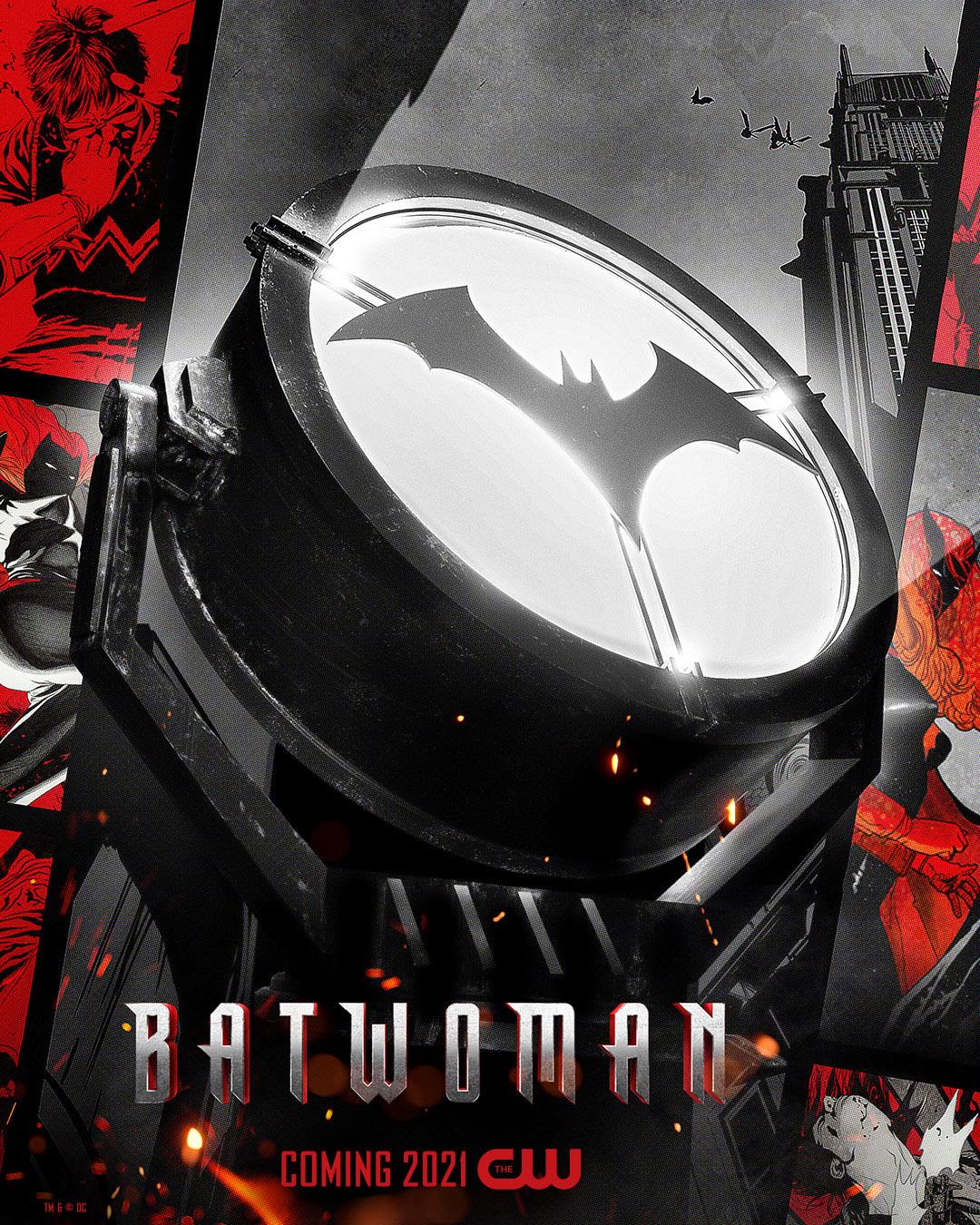 Постер для 2 сезона сериала Бэтвумен