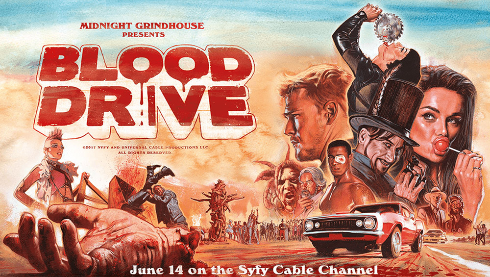 Постер для 1 сезона сериала Кровавая Гонка