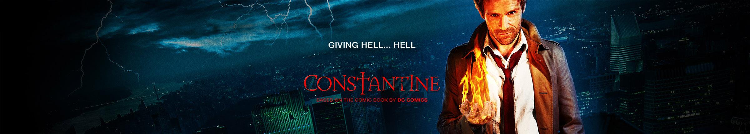 Постер для 1 сезона сериала Константин