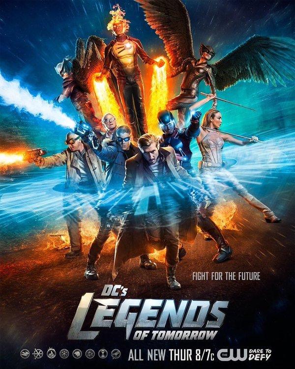 Постер для 1 сезона сериала Легенды Завтрашнего Дня