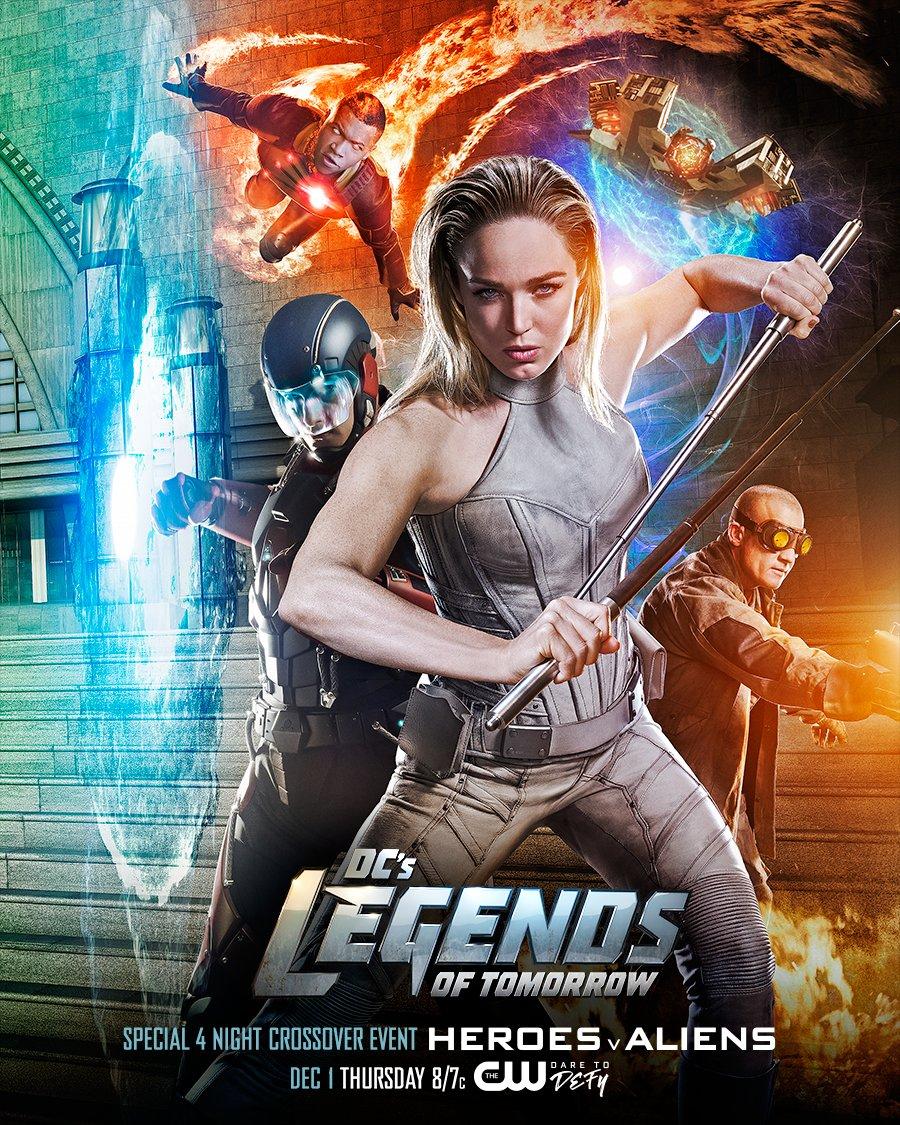 Постер для 2 сезона сериала Легенды Завтрашнего Дня