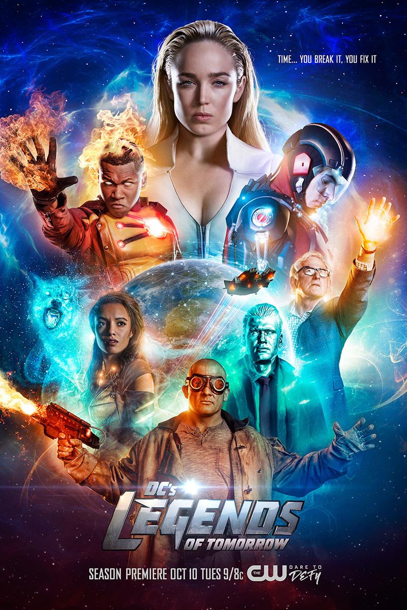 Постер для 3 сезона сериала Легенды Завтрашнего Дня
