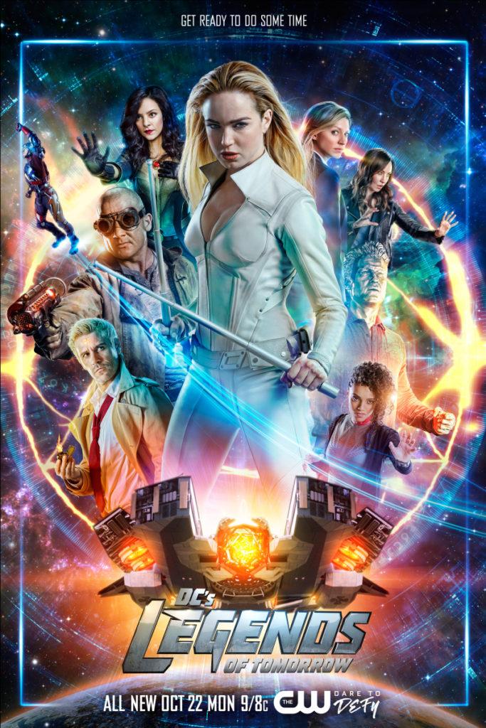 Постер для 4 сезона сериала Легенды Завтрашнего Дня