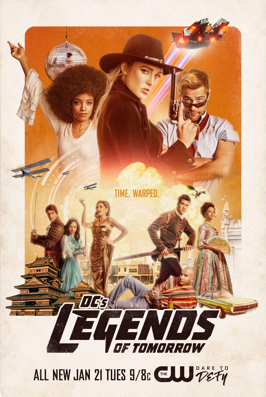 Постер для 5 сезона сериала Легенды Завтрашнего Дня