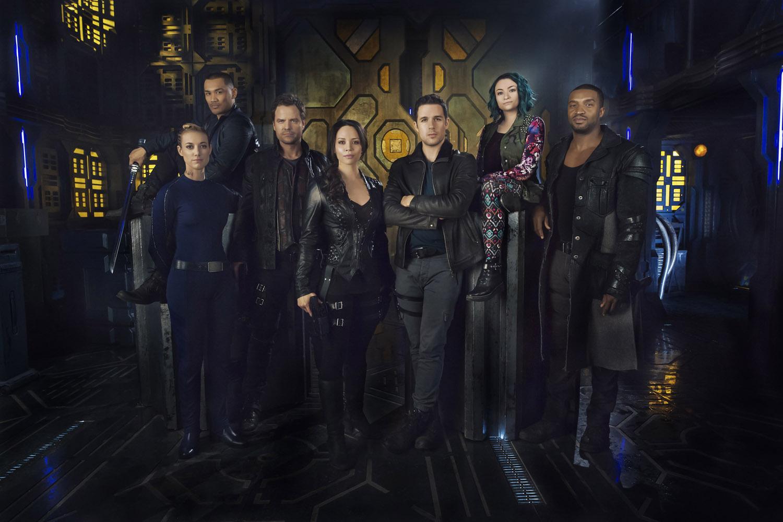 Постер для 1 сезона сериала Темная Материя