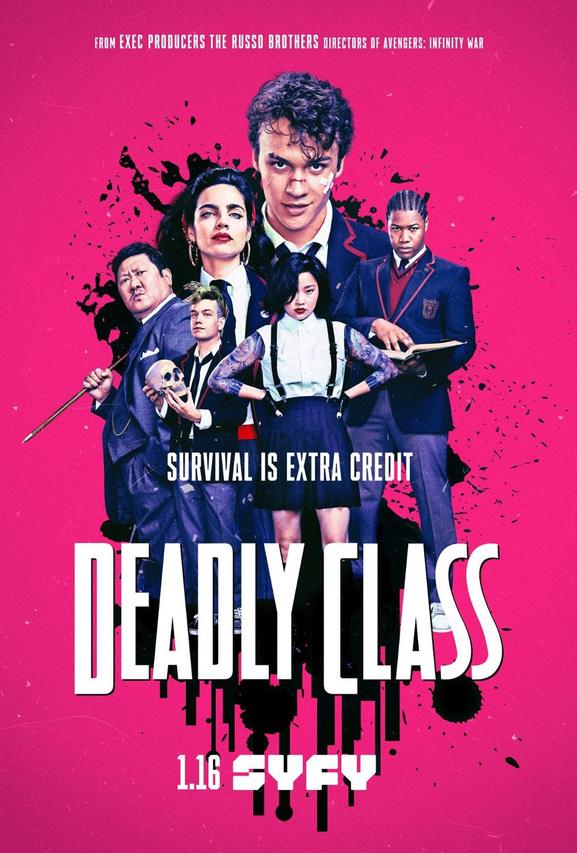 Постер для 1 сезона сериала Убийственный Класс