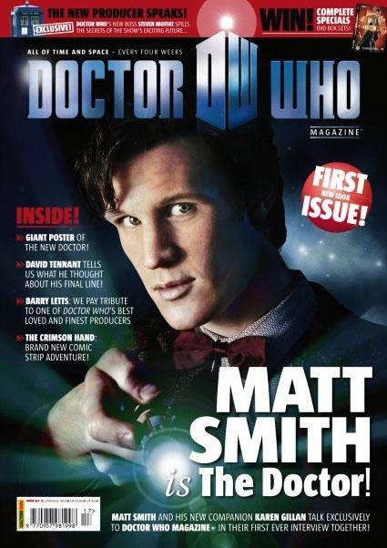 Обложка журнала Doctor Who