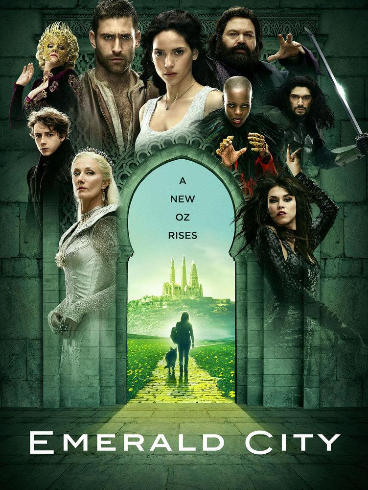 Постер для 1 сезона сериала Изумрудный Город