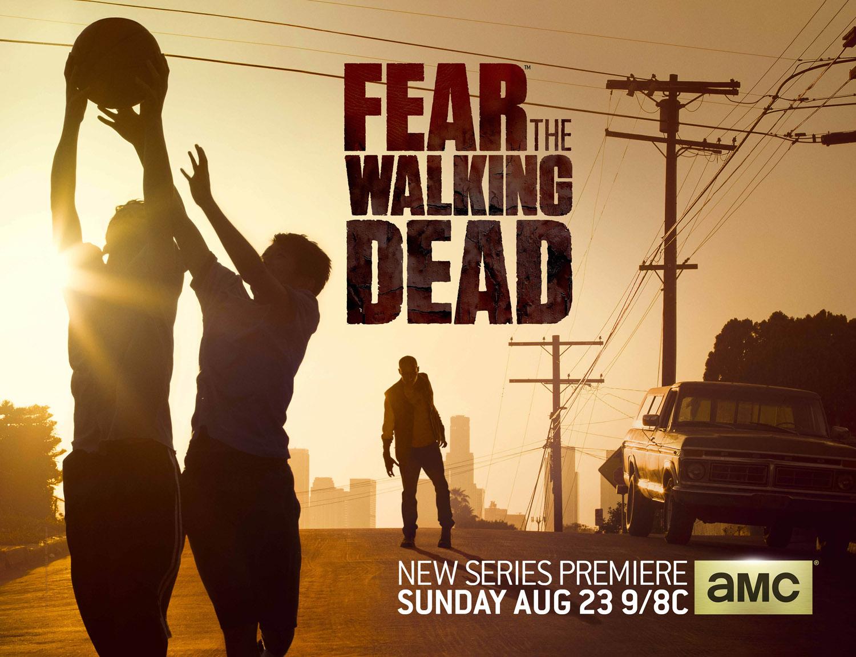 Постер для 1 сезона сериала Бойтесь Ходячих Мертвецов