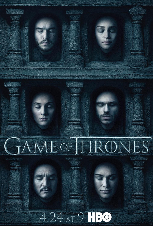 Постер для 6 сезона сериала Игра Престолов