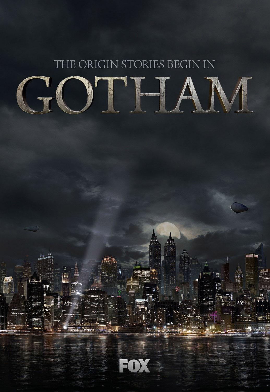 Постер для 1 сезона сериала Готэм
