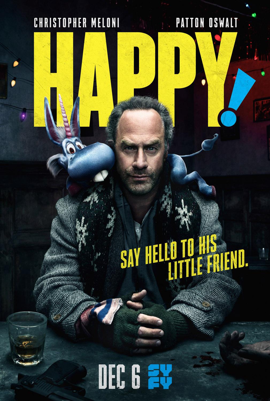 Постер для 1 сезона сериала Хэппи