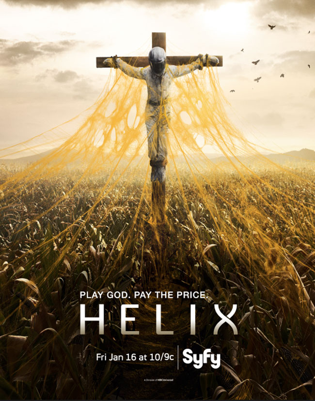 Постер для 2 сезона сериала Спираль