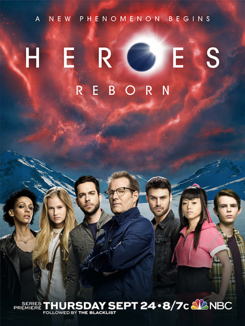 Постер для 1 сезона сериала Герои: Возрождение