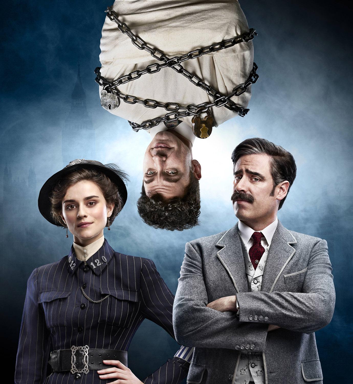 Постер для 1 сезона сериала Гудини и Дойл