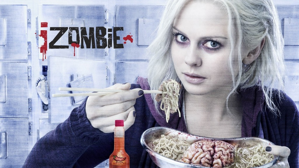 Постер для 1 сезона сериала Я - Зомби
