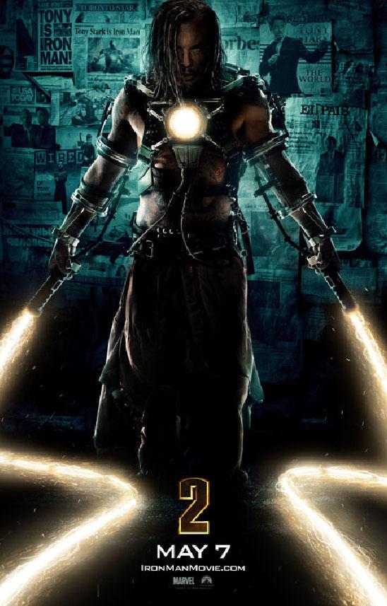 Постер к фильму Iron Man 2