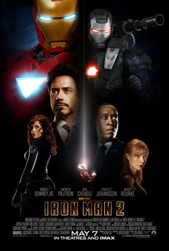 Постер к Железному Человеку 2